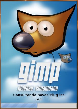 nova versão do gimp
